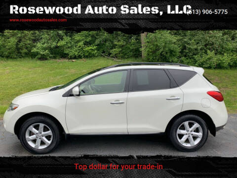2009 Nissan Murano for sale at Rosewood Auto Sales, LLC in Hamilton OH