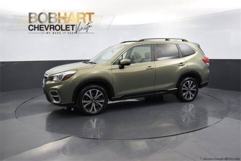 2019 Subaru Forester for sale at BOB HART CHEVROLET in Vinita OK