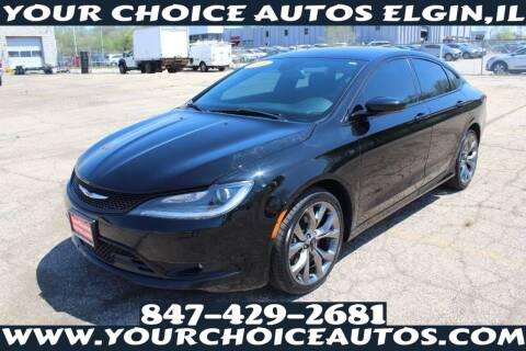 2015 Chrysler 200 for sale at Your Choice Autos - Elgin in Elgin IL