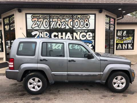 2012 Jeep Liberty for sale at Kentucky Auto Sales & Finance in Bowling Green KY