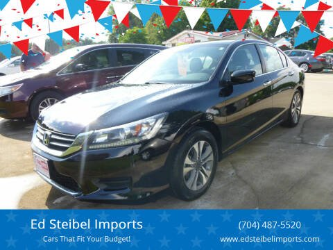 2015 Honda Accord for sale at Ed Steibel Imports in Shelby NC