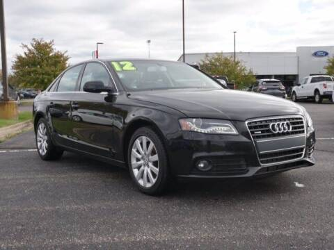 2012 Audi A4 for sale at Szott Ford in Holly MI