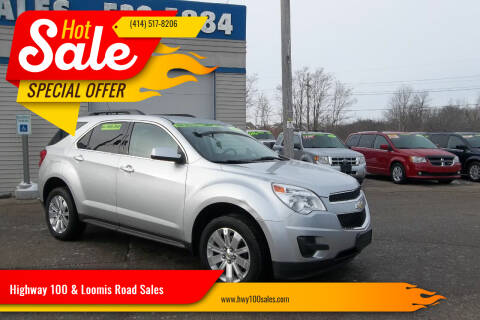 2010 Chevrolet Equinox for sale at Highway 100 & Loomis Road Sales in Franklin WI