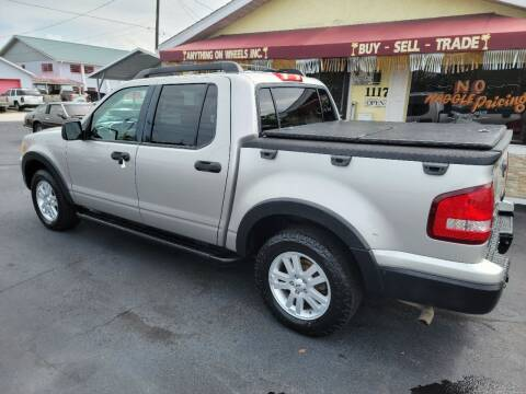 2008 Ford Explorer Sport Trac for sale at ANYTHING ON WHEELS INC in Deland FL