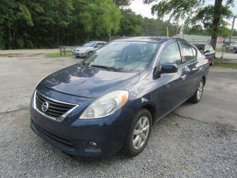 2014 Nissan Versa for sale at Bullet Motors Charleston Area in Summerville SC