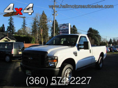 2008 Ford F-250 Super Duty for sale at Hall Motors LLC in Vancouver WA