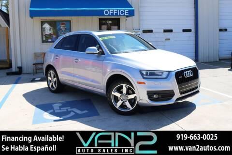 2015 Audi Q3 for sale at Van 2 Auto Sales Inc in Siler City NC