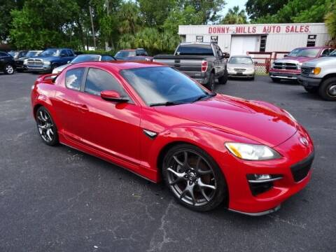 2009 Mazda RX-8 for sale at DONNY MILLS AUTO SALES in Largo FL