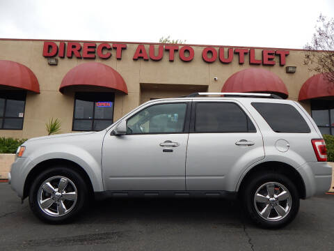 2009 Ford Escape for sale at Direct Auto Outlet LLC in Fair Oaks CA