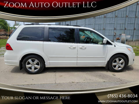 2009 Volkswagen Routan for sale at Zoom Auto Outlet LLC in Thorntown IN