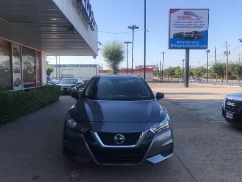 2020 Nissan Versa for sale at Magic Auto Sales in Dallas TX