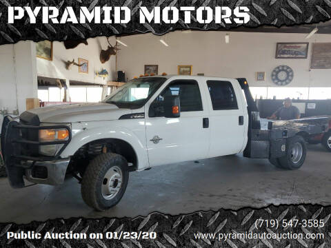 2012 Ford F-350 Super Duty for sale at PYRAMID MOTORS - Pueblo Lot in Pueblo CO
