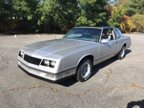 1987 Chevrolet Monte Carlo for sale at Westford Auto Sales in Westford MA