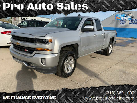 2018 Chevrolet Silverado 1500 for sale at Pro Auto Sales in Lincoln Park MI