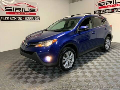2015 Toyota RAV4 for sale at SIRIUS MOTORS INC in Monroe OH