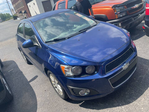 2013 Chevrolet Sonic for sale at Trocci's Auto Sales in West Pittsburg PA