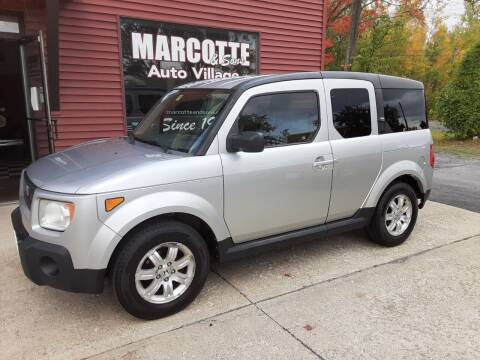 2006 Honda Element for sale at Marcotte & Sons Auto Village in North Ferrisburgh VT