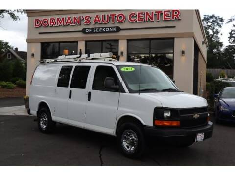 2011 Chevrolet Express Cargo for sale at DORMANS AUTO CENTER OF SEEKONK in Seekonk MA