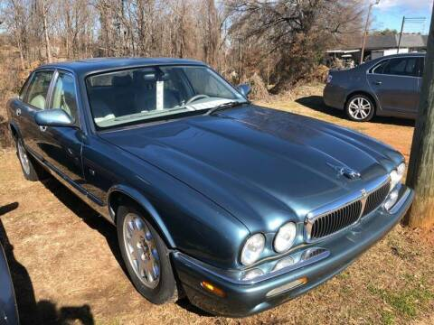 2000 Jaguar XJ-Series for sale at STAN EGAN'S AUTO WORLD, INC. in Greer SC