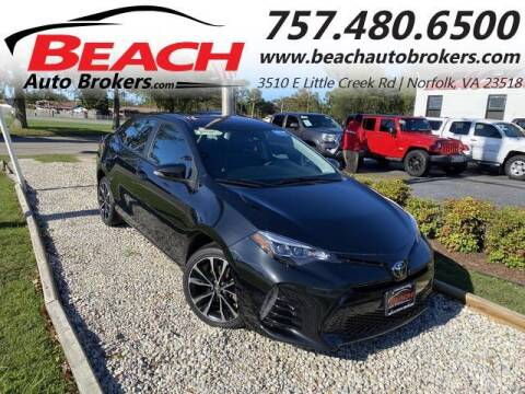 2018 Toyota Corolla for sale at Beach Auto Brokers in Norfolk VA