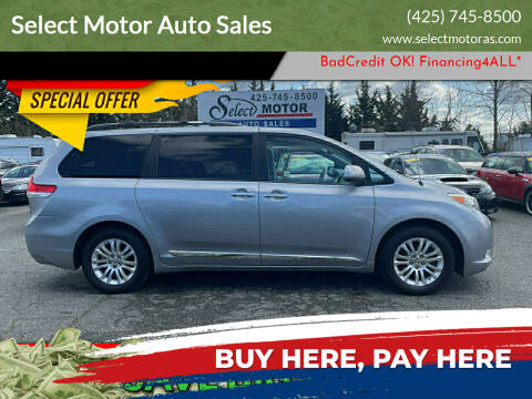 2013 Toyota Sienna for sale at Select Motor Auto Sales in Lynnwood WA