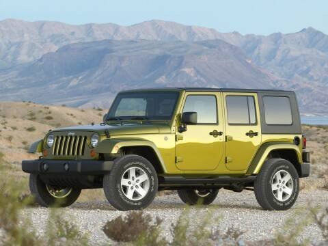 2008 Jeep Wrangler Unlimited for sale at Bill Gatton Used Cars - BILL GATTON ACURA MAZDA in Johnson City TN