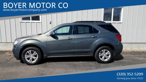 2013 Chevrolet Equinox for sale at BOYER MOTOR CO in Sauk Centre MN
