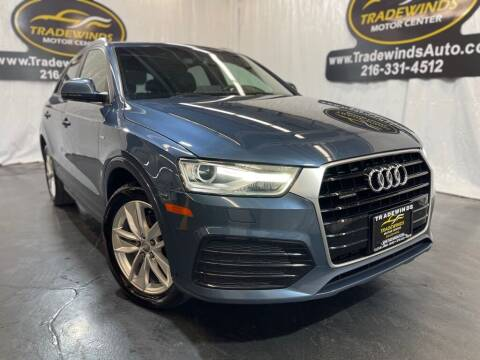 2018 Audi Q3 for sale at TRADEWINDS MOTOR CENTER LLC in Cleveland OH