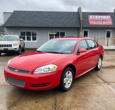 2013 Chevrolet Impala for sale at Stephen Motor Sales LLC in Caldwell OH