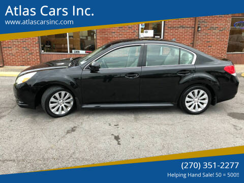 2011 Subaru Legacy for sale at Atlas Cars Inc. - Radcliff Lot in Radcliff KY