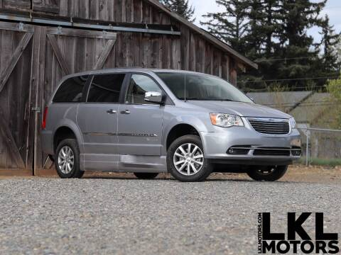 2016 Chrysler Town and Country for sale at LKL Motors in Puyallup WA