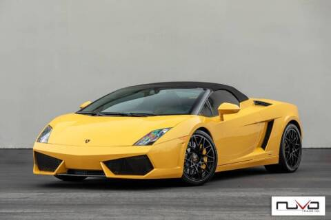 2012 Lamborghini Gallardo for sale at Nuvo Trade in Newport Beach CA