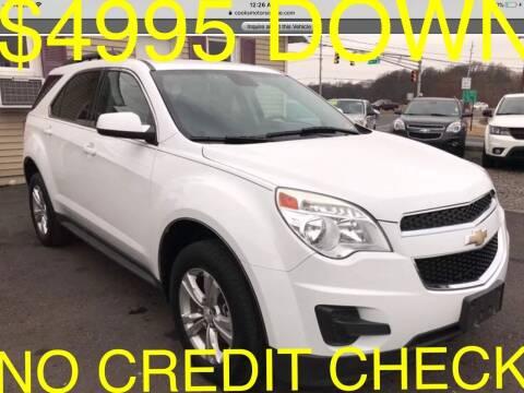 2013 Chevrolet Equinox for sale at Cooks Motors in Westampton NJ