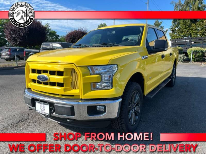2015 Ford F-150 for sale at Auto 206, Inc. in Kent WA