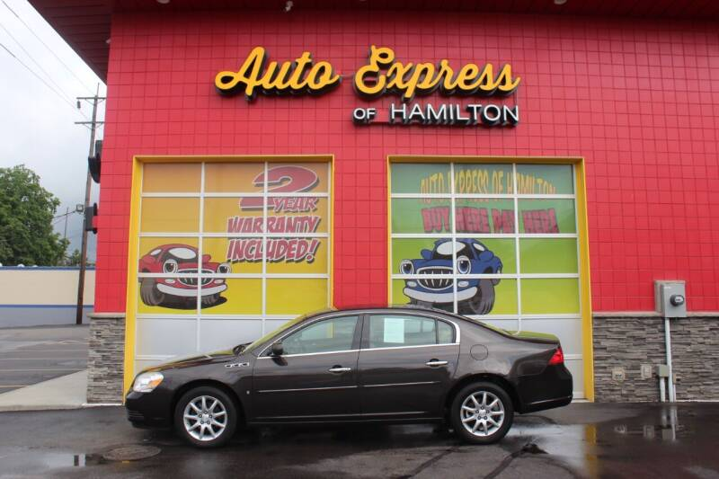 2008 Buick Lucerne for sale at AUTO EXPRESS OF HAMILTON LLC in Hamilton OH