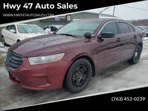 2014 Ford Taurus for sale at Hwy 47 Auto Sales in Saint Francis MN