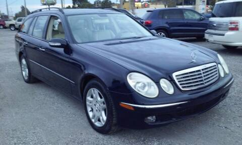 2004 Mercedes-Benz E-Class for sale at Pinellas Auto Brokers in Saint Petersburg FL