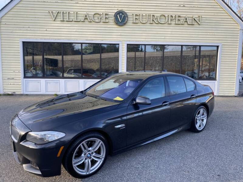 2012 BMW 5 Series for sale at Village European in Concord MA