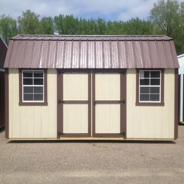 2021 Premier side loft barn for sale at Triple R Sales in Lake City MN