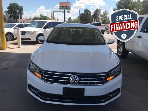 2017 Volkswagen Passat for sale at Fiesta Motors Inc in Las Cruces NM