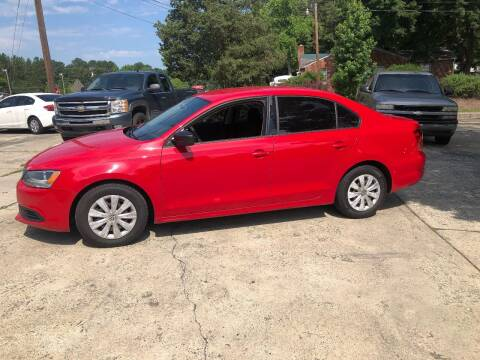 2012 Volkswagen Jetta for sale at Moore's Motors in Durham NC