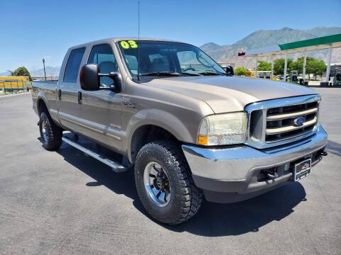 2003 Ford F-350 Super Duty for sale at FRESH TREAD AUTO LLC in Springville UT