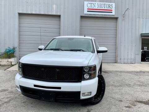2009 Chevrolet Silverado 1500 for sale at CTN MOTORS in Houston TX