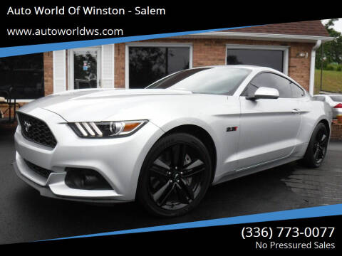 2016 Ford Mustang for sale at Auto World Of Winston - Salem in Winston Salem NC