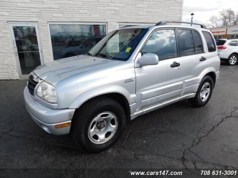 2002 Suzuki Grand Vitara for sale at Cj king of car loans/JJ's Best Auto Sales in Troy MI