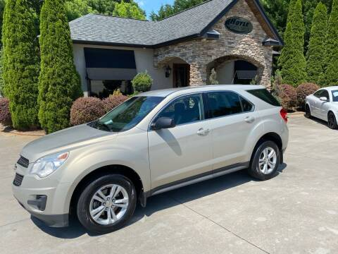 2011 Chevrolet Equinox for sale at Hoyle Auto Sales in Taylorsville NC