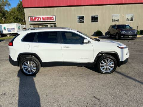 2014 Jeep Cherokee for sale at Ramsey Motors in Riverside MO