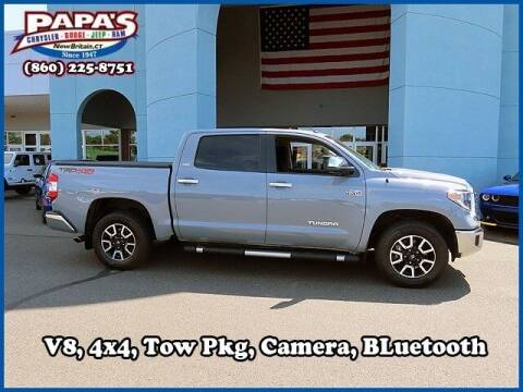 2018 Toyota Tundra for sale at Papas Chrysler Dodge Jeep Ram in New Britain CT
