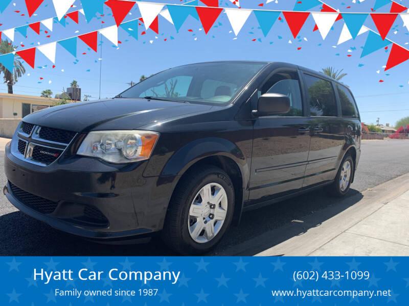 2012 Dodge Grand Caravan for sale at Hyatt Car Company in Phoenix AZ