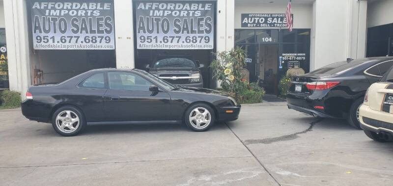 1997 Honda Prelude for sale at Affordable Imports Auto Sales in Murrieta CA